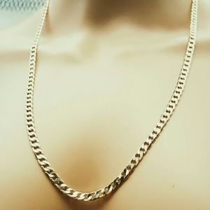 """Other - Yellow Gold toned Cuban Chain, 20"""""""